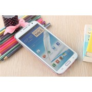 Samsung Galaxy Note 2 Colored Tempered Glass-White