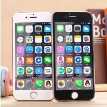 "iPhone 6 4.7"" Carbon Fiber Ballistic Glass Tempered Glass"