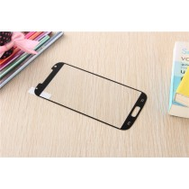 Samsung Galaxy S4 Colored Tempered Glass-Black
