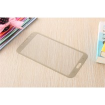 Samsung Galaxy Note 2 Colored Tempered Glass-Gold