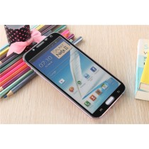 Samsung Galaxy Note 2 Colored Tempered Glass-Black