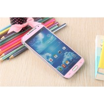 Samsung Galaxy S4 Colored Tempered Glass-Pink