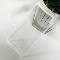Huawei P Smart Full Coverage Tempered Glass-White Full Glue