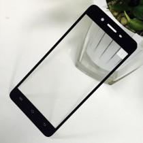 Vivo Y55 Full Coverage Tempered Glass-Black Full Glue