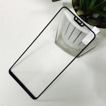 Vivo Y85 Full Coverage Tempered Glass-Black Full Glue