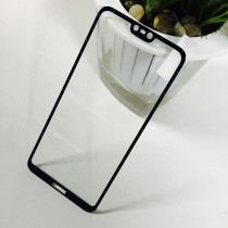 Nokia 6.1 Plus Full Coverage Tempered Glass-Black Full Glue
