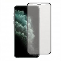 iPhone 11 Full Matte Tempered Glass Screeen Protector-Black