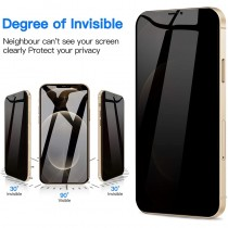 iPhone 13 Privacy Tempered Glass Screen Protector